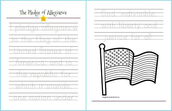 3 Simple Tracing Worksheets For Presidents 39 Day Supplyme