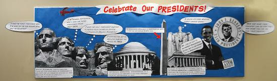 President's Day Bulletin Board Idea