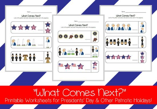 Patriotic Patterning Printable