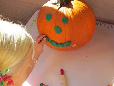 Fall Pumpkin Preschool Lesson Plan