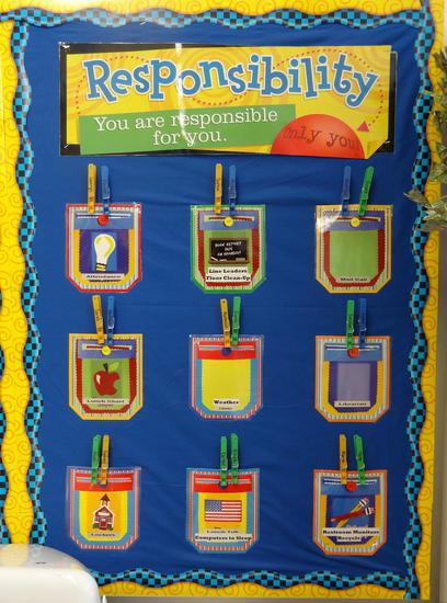 Motivational Back To School Classroom Management Bulletin Board Idea