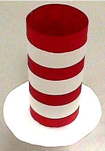 dr seuss cat in the hat hat craft