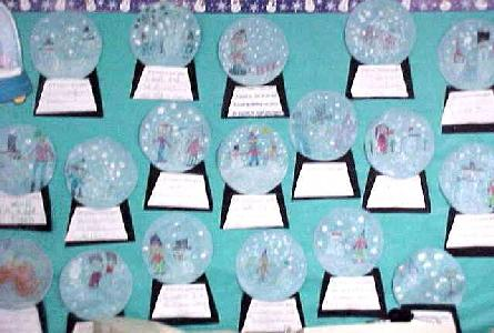 If I Lived In A Snow Globe Winter Bulletin Board Idea Supplyme