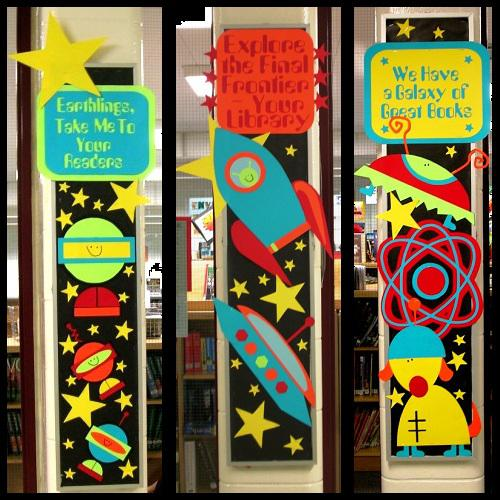 Elementary Space Theme Bulletin Board Idea