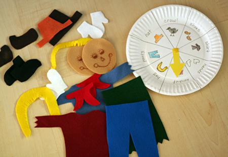 Fall Scarecrow Game Preschool Lesson Plan
