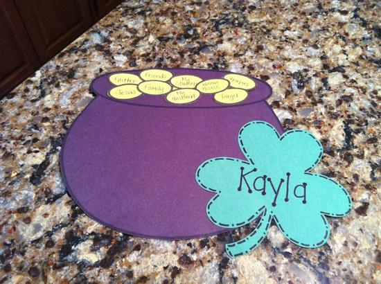 St. Patrick's Day Pot of Gold Craft for Kids and Bulletin Board Idea