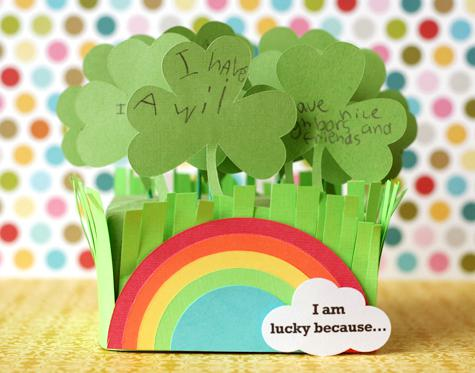 St. Patrick's Day Craft and Preschool Lesson Plan