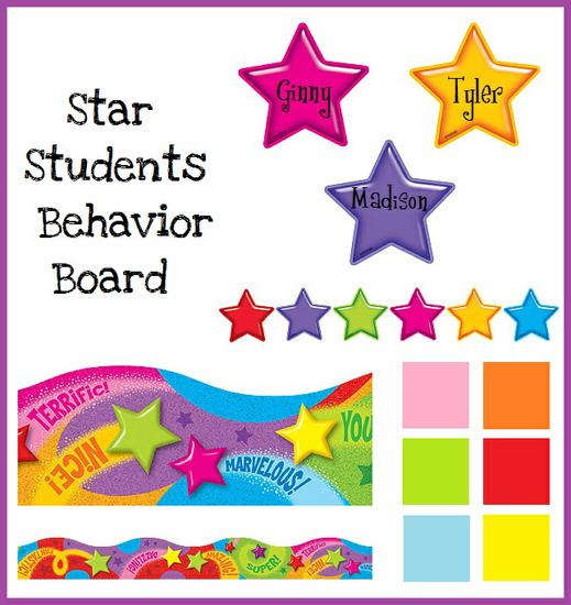 Elementary Behavior Management Bulletin Board Idea