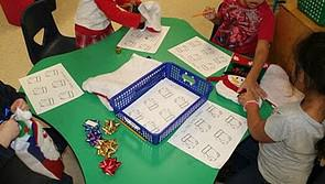 Christmas Counting Math Kindergarten Lesson Plan