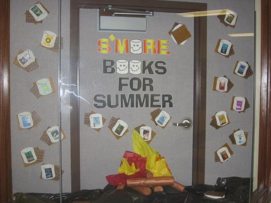 Spring and Summer Reading Bulletin Board Idea
