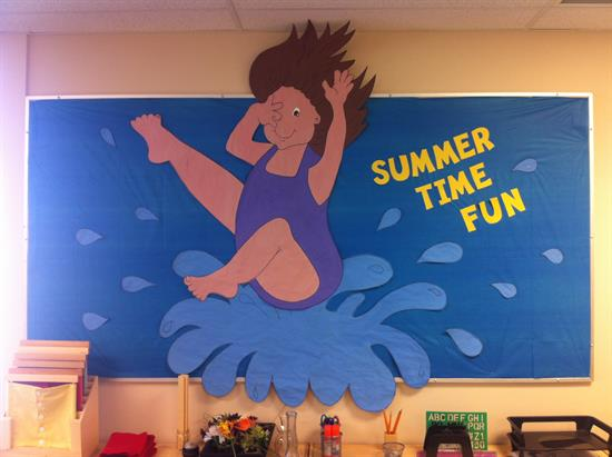 Summer Bulletin Board Idea