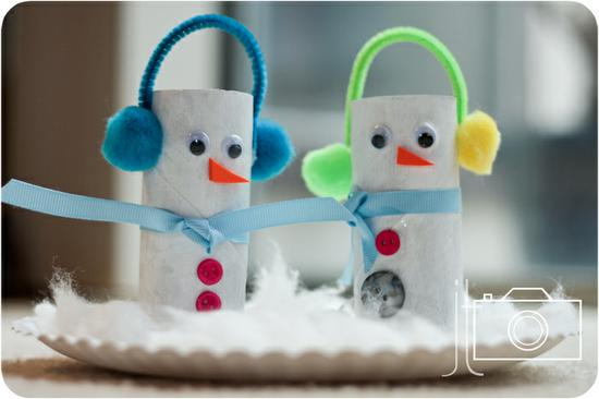 Winter and Christmas Craft for Kids
