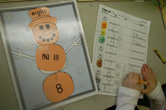 Winter Literacy and Math Preschool Lesson Plans