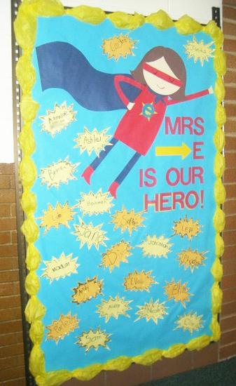 Elementary Teacher Appreciation Bulletin Board Idea