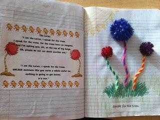 Dr Seuss Poetry Craft and Kindergarten Lesson Plan