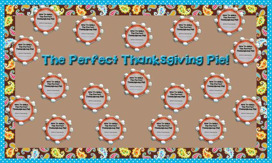 Thanksgiving Writing Prompt and Bulletin Board Idea