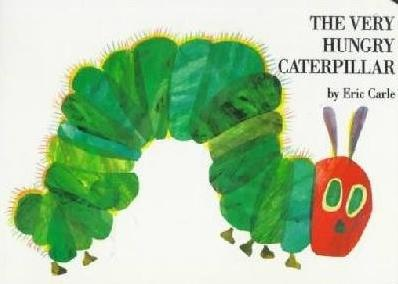The Very Hungry Caterpillar Book Cover and Preschool Lesson Plan