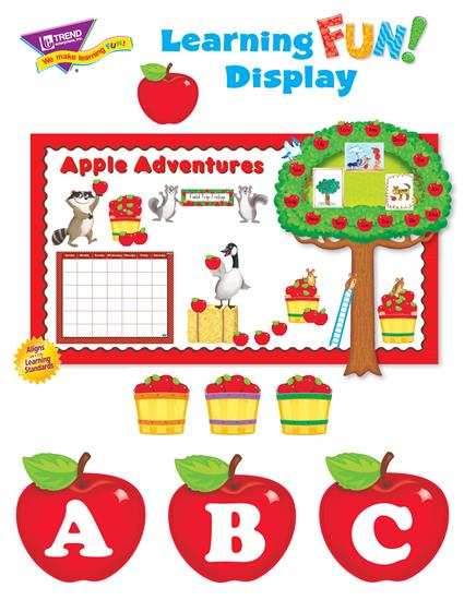 Apple Themed Bulletin Board