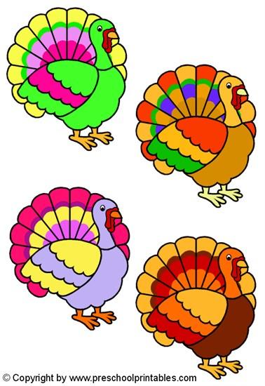 Turkey Lurkey Color Match File Folder Game - SupplyMe
