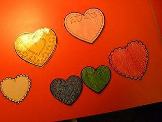 Valentine's Day Literacy and Colors Preschool Lesson Plan