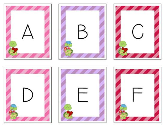 Valentine's Day Letter Ordering Activity Printable