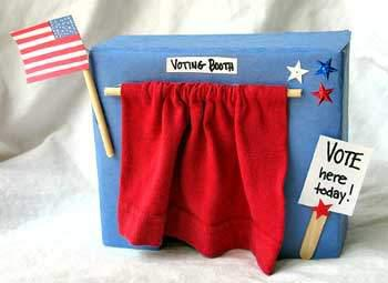 Election Day Voting Booth