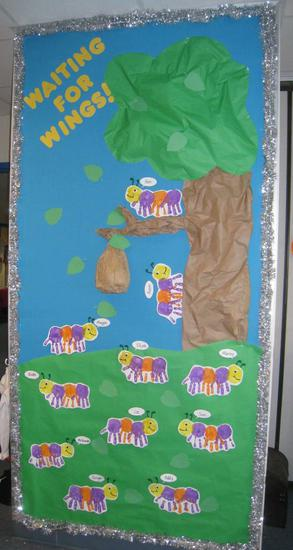 Spring and End of the Year Bulletin Board Idea