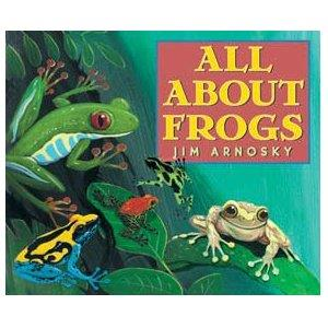 Book Cover, All About Frogs