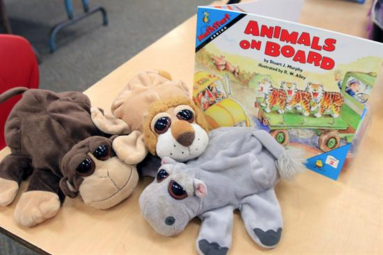Addition Practice with Animals on Board