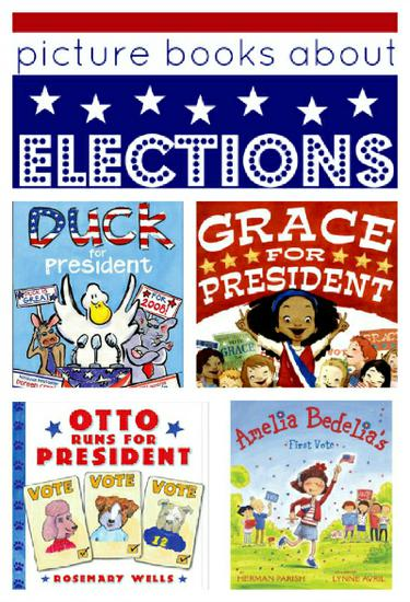 Election Themed Children's Literature and Preschool Lesson Plan