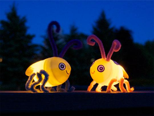 Summer Firefly Bug Kids Craft