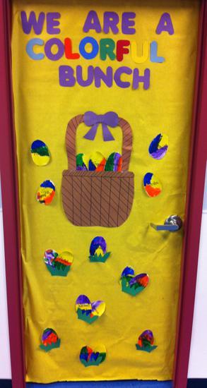 Easter Classroom Door Ideas