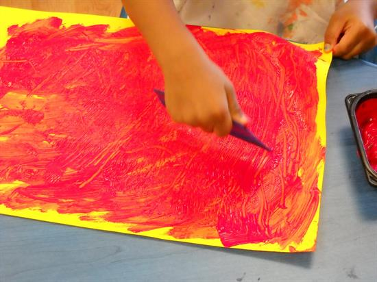 Early Childhood Craft - Creating Fire