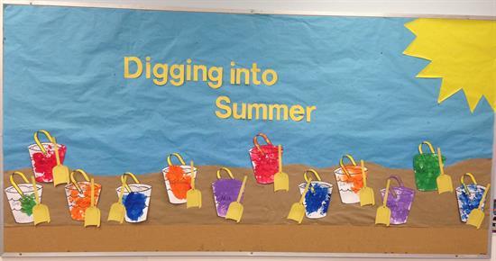 Digging Into Summer Bulletin Board Idea Supplyme