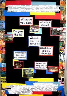 Critical Thinking Art Room Bulletin Board Idea