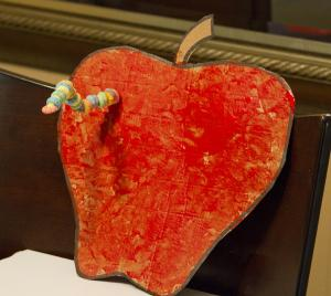 Back To School Apple Craft for Kids