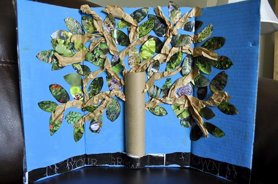 Tree Craft and Display to Celebrate Earth Day