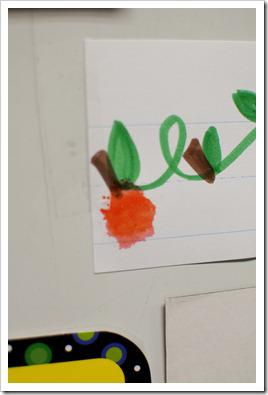 Fall Behavior Management Bulletin Board Idea