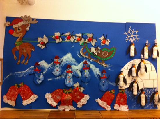 Winter Wonderland Holiday Bulletin Board Supplyme