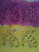 Numbered Frogs for Fact Family Practice, Set 2