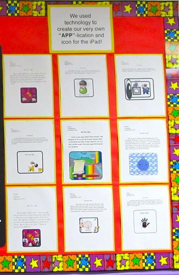 Technology and Writing Bulletin Board and Lesson Plan