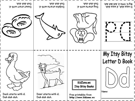 Literacy Alphabet Booklet Preschool Printable