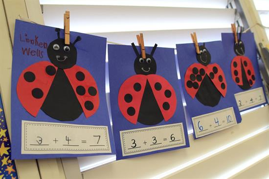 Craft - Ladybug Addition