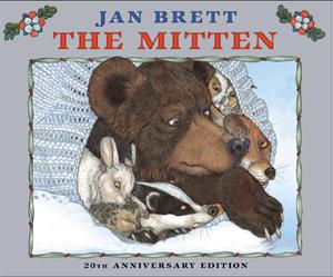 Jan Brett's The Mitten book cover
