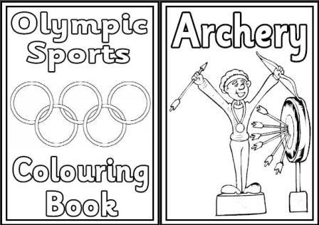 - Summer Olympics - Olympic Sports Coloring Pages – SupplyMe