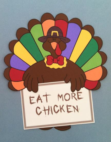 Elementary Thanksgiving Bulletin Board Idea