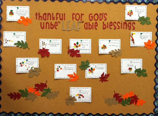 Thankful For God S Unbe Leaf Able Blessings Thanksgiving Bulletin B Supplyme