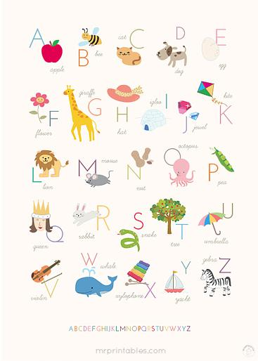 Alphabet Preschool Printable