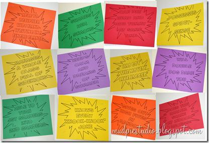 Superhero Teacher Appreciation Bulletin Board Idea