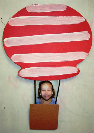 Hot Air Balloon Decoration for Dr. Seuss Week